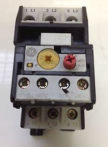 General Electric Thermal Overload Relay Iec 947 4 1 pzb