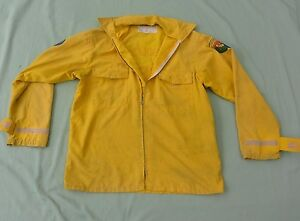 Firefighter Wildland brush Fire Shirt jacket