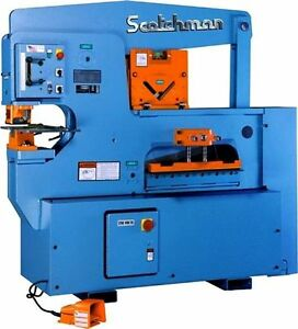 Scotchman 9012 24m Ironworker Made In Usa
