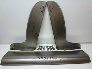 Ford Model A Roadster Coupe Metal Seat Ends And Toe For 30 31 1930 1931