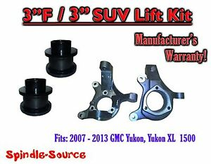 07 13 Chevy Tahoe Gmc Yukon 1500 Suv 3 3 Full Lift Kit 2wd Spindles