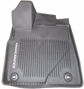 2015 2019 Highlander All Weather Floor Mats Liner Genuine Oem Pt908 48165 02