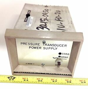 Barber coleman Pressure Transducer Power Supply A9529 1