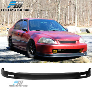 Pp Polypropylene Front Bumper Lip Best Fitment On Ebay 96 98 Honda Civic Mugen