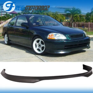 Pp Polypropylene Front Bumper Lip Best Fitment On Ebay 96 98 Honda Civic T R