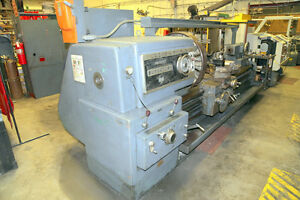 Lathe 34 X 72 Cc Lodge Shipley Superturn 3220 50hp taper 4 Jaw aloris 1962