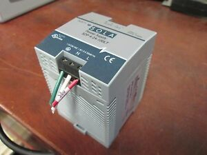 Sola 24vdc Power Supply Sdp 4 24 100lt In 115 230vac 1 8 1a Out 24vdc 3 8a Used