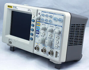 New Rigol Ds1052e Digital Oscilloscope 50mhz 2ch 1 Gsa s 1mpts 5 7 Lcd 64k Usb