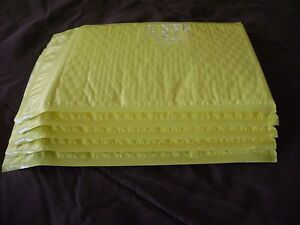 100 Yellow 6 X 9 Bubble Mailer Self Seal Envelope Padded Mailer