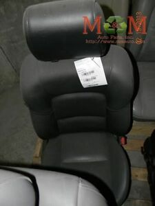 Passenger R Front Seat Bucket Leather Air Bag Manual Fits 07 09 Mazda 3 590400