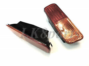 Land Rover Discovery 2 1999 2002 Rear Bumper Light Set Xfb101490 Xfb101480 New