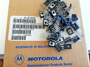 50 Pieces Mje350 Motorola Power Pnp Silicon Transistor Free Us Shipping