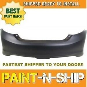 Fits 2012 2013 2014 Toyota Camry Se Rear Bumper Painted To Match to1100297