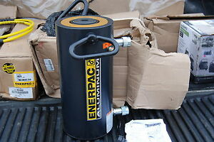 Enerpac Rar 1008 100 Ton Aluminum Hydraulic Cylinder 8 Stroke Double Acting