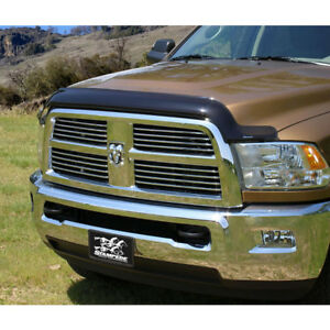 2259 2 Stampede Vigilante Premium Smoke Bug Shield For Dodge Ram 1500 2009 2014