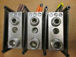 Gould Power Distribution Block 67453 Line 1 500mcm Load 1 300mcm 3 2 14