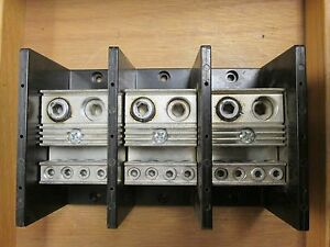 Marathon Power Distribution Block 1453587 3p Used