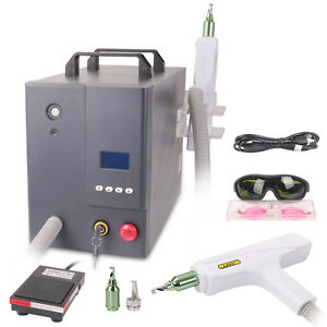 Pro Q switch Yag Laser Tattoo Removal Eyebrow Lipline Skin Care 800mj 500w Salon
