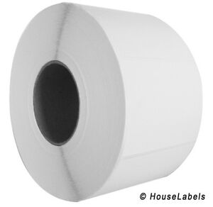 8 Rolls 4 X 3 Direct Thermal Zebra Fasson Labels 3 Inch Core 15600 Labels 4x3