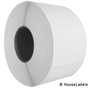 48 Rolls 4 X 3 Direct Thermal Zebra Fasson Labels 3 Inch Core 93k Labels 4x3