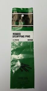 RCBS Headed Decapping Pins  5 pack  #90164 NIP