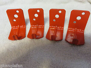 Lot Of 4 universal Wall Mount 10 15 20 Lb Size Fire Extinguisher Bracket New