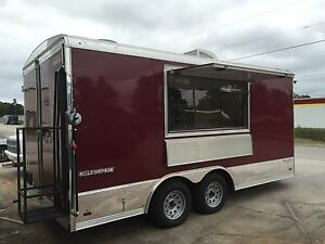 Custom Built Catering Concession Food Trailer