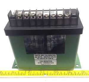 Ohio Semitronics Signal Conditioner Nnb Cta215