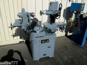 Cincinnati monoset Tool Cutter Grinder Needs Some Work oc518
