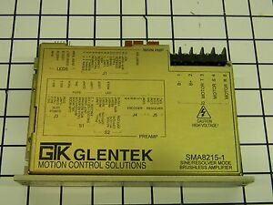 Gtk Glentek Sma8215 1 Brushless Servo Amplifier A4