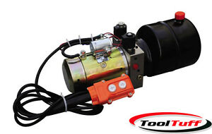 Double Acting Hydraulic Power Unit Remote Dump Tipper Trailer Power Unit New