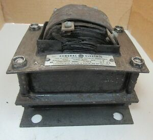 Ge General Electric Transformer Model Eae1 Type Je 25 Je25 A516497 Ratio 4