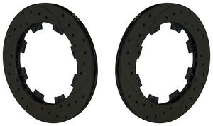 Wilwood Racing Brake Rotor Set 2 8x7 81 x12 drilled srp street Rod off road