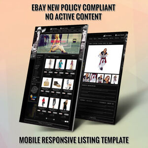 Advance Ebay Store Design Template And Listing Auction Html Templates New