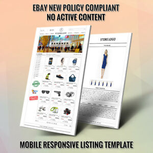 Professional Ebay Store Design And Listing Auction Templates Same Day Setup