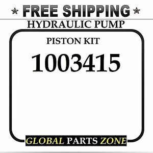 New Hydraulic Pump Piston Kit For Caterpillar 1003415 100 3415 Free Delivery