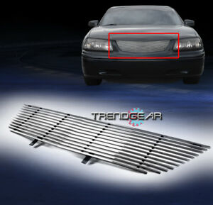 2000 2005 Chevy Impala Front Upper Aluminum Billet Grille 2001 2002 2003 2004