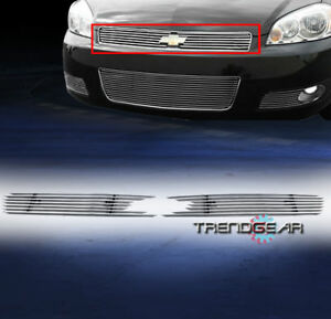 2006 2013 Chevy Impala 06 2007 Monte Carlo Front Upper Main Billet Grille Insert
