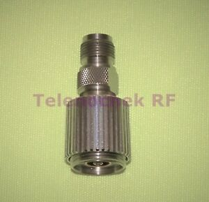 Amphenol Rf Microwave Precision Coaxial Adapter Apc 7mm Tnc f Female Dc 18 Ghz