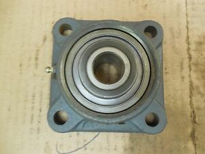 Fmc 4 bolt Flange Bearing Fe 316 Fe316 1 Bore New