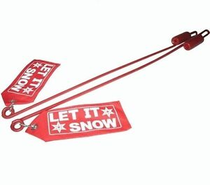 New Snow Plow Blade Markers Guide Sticks With Flags For Western 59700