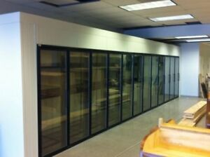 New 12 Door Walk reach In Glass Door Display Cooler 8 x32 x8