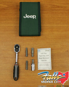 2007 2019 Jeep Wrangler Jk Hard Top Door Install Removal Tool Kit Mopar Oem