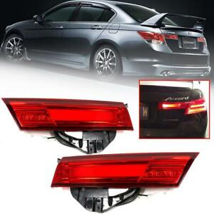 For 2008 2012 Honda Accord G8 Led Tail Light Lamp Only Fit Japan Back Garnish