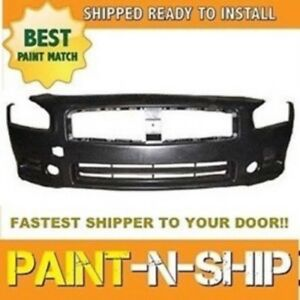 For 2009 2010 2011 2012 2013 2014 Nissan Maxima Front Bumper Painted ni1000258