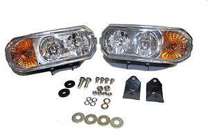 Hamsar 81091 2 Snow Plow Lights Dual Halogen 12 Volt Light Kit