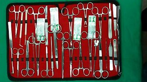 117 Pc O r Us Military Field Minor Surgery Surgical Veterinary Dental Inst Kit