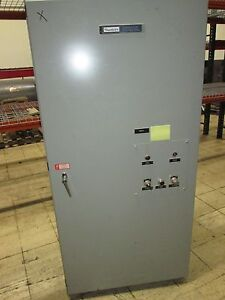 Russelectric Transfer Switch Rmt 8003ce 800a 277 480v 3ph 4w 60hz Used