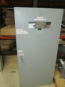 Asco Automatic Transfer Switch C9403600xc 600a 480y 277v 4w Used