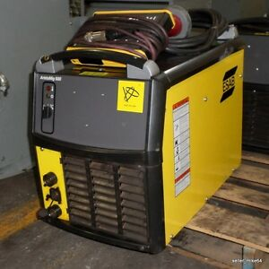 Esab Aristomig 500 Mig Welder W Pendant And Power Cable pzb